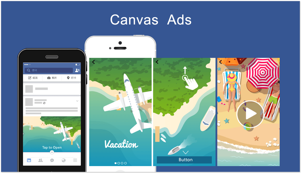 Facebook Canvas maken