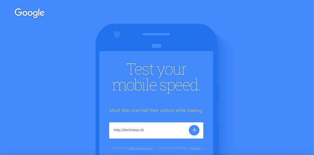 Test jouw mobiele laadtijd
