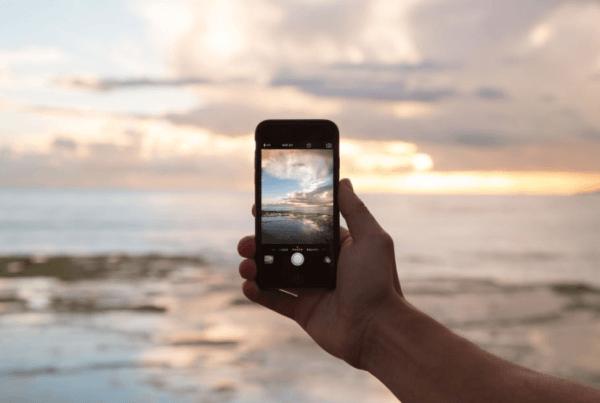 Foto bewerken op iphone