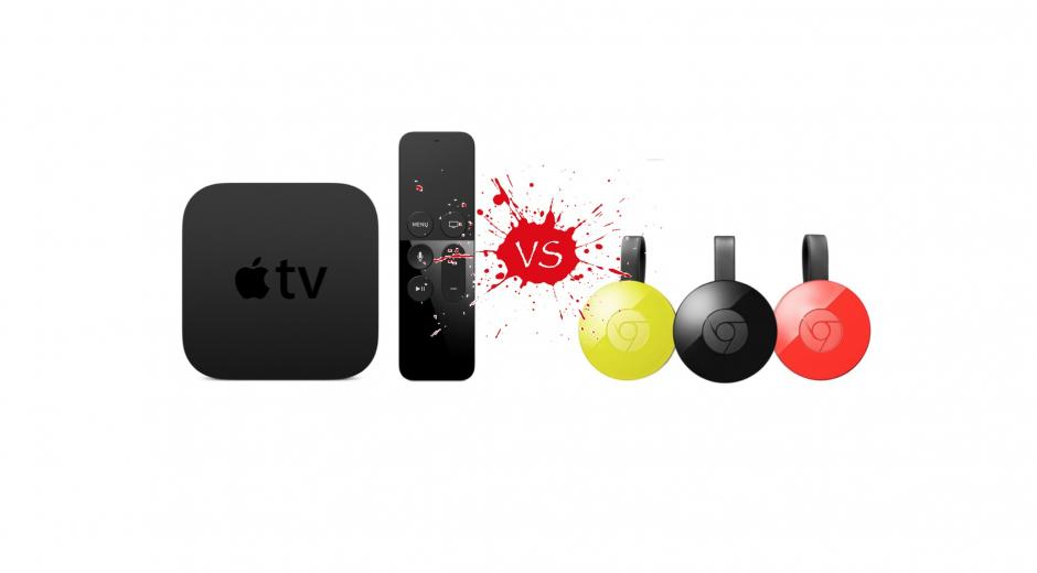 Apple TV vs. Chromecast