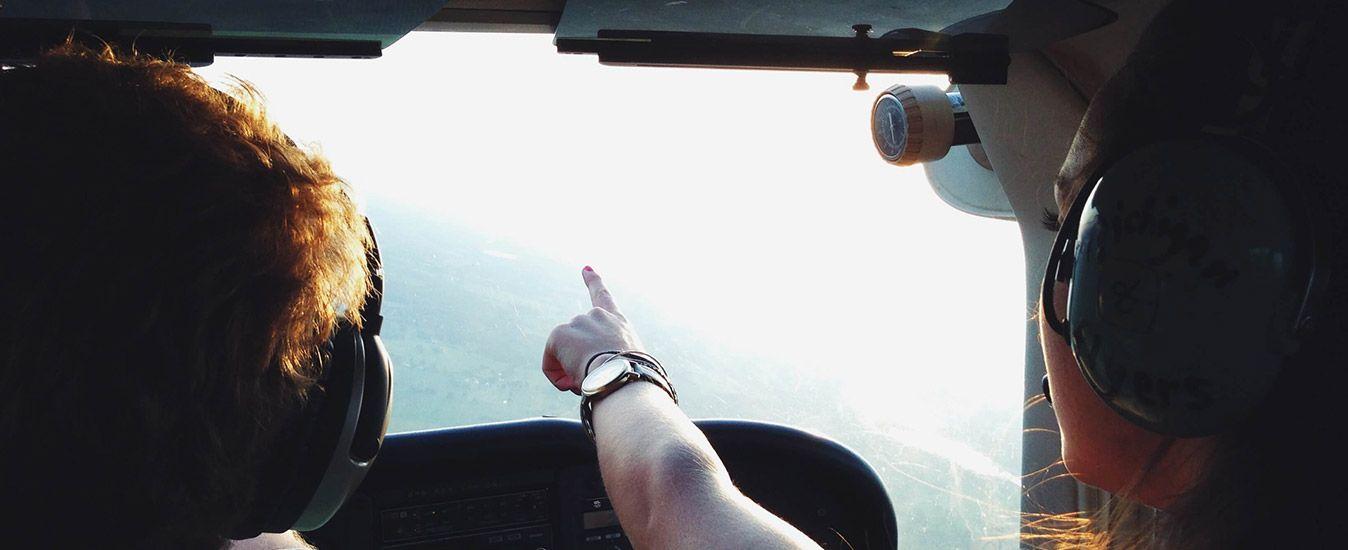 Reis in stijl met een helikoptervlucht
